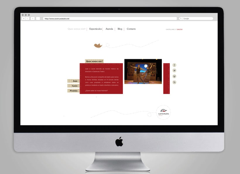Brand Redesign: Caramuxo Teatro 4