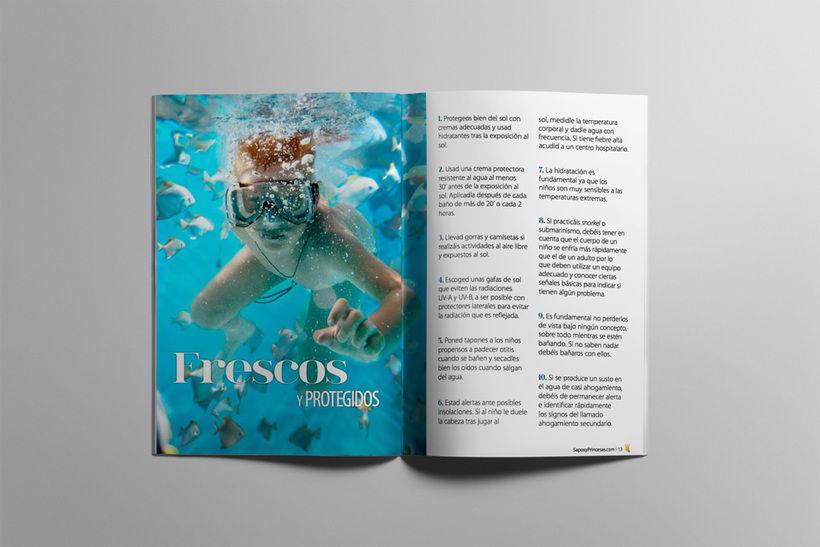Maquetación editorial de Sapos y Princesas Especial 20 Escapadas 2