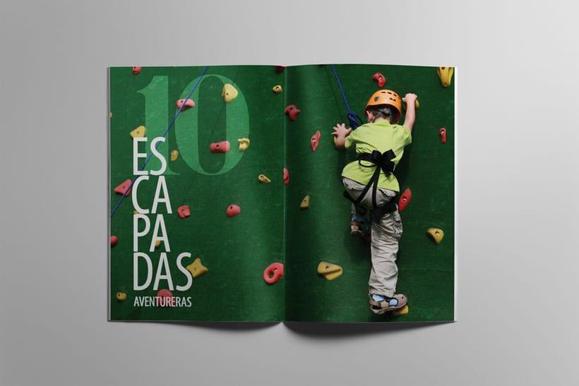 Maquetación editorial de Sapos y Princesas Especial 20 Escapadas 3