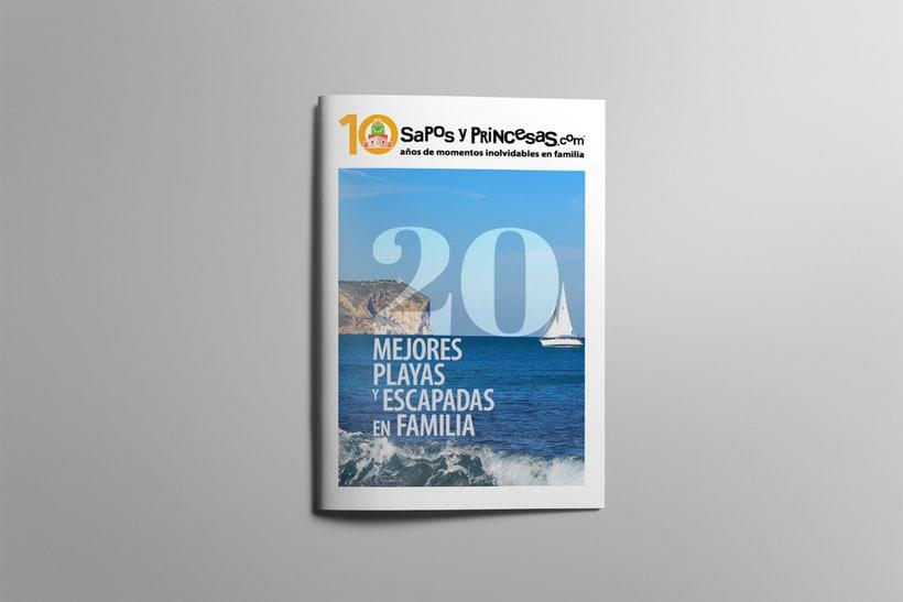 Maquetación editorial de Sapos y Princesas Especial 20 Escapadas 0