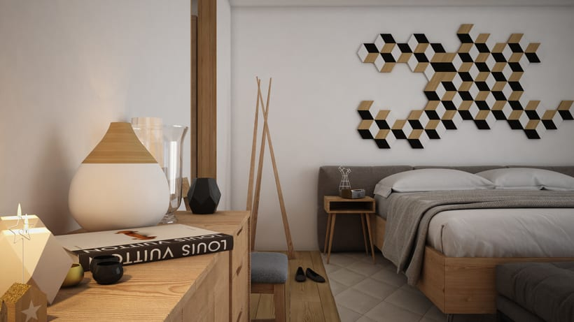 Dormitorio 3D 1