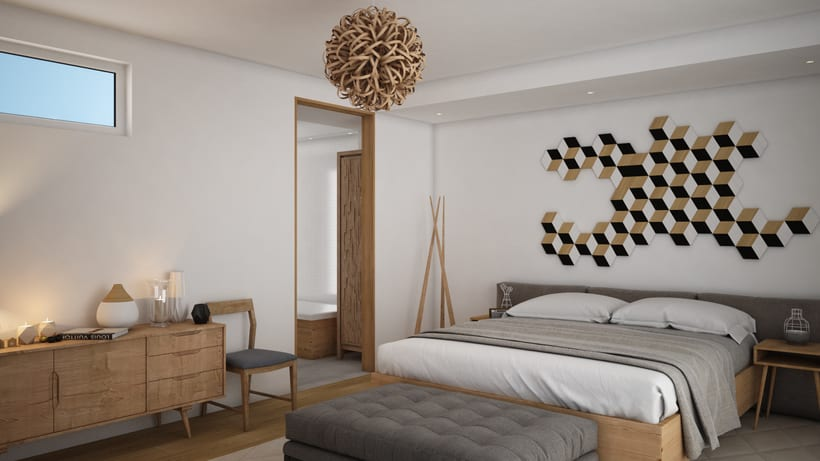 Dormitorio 3D 3