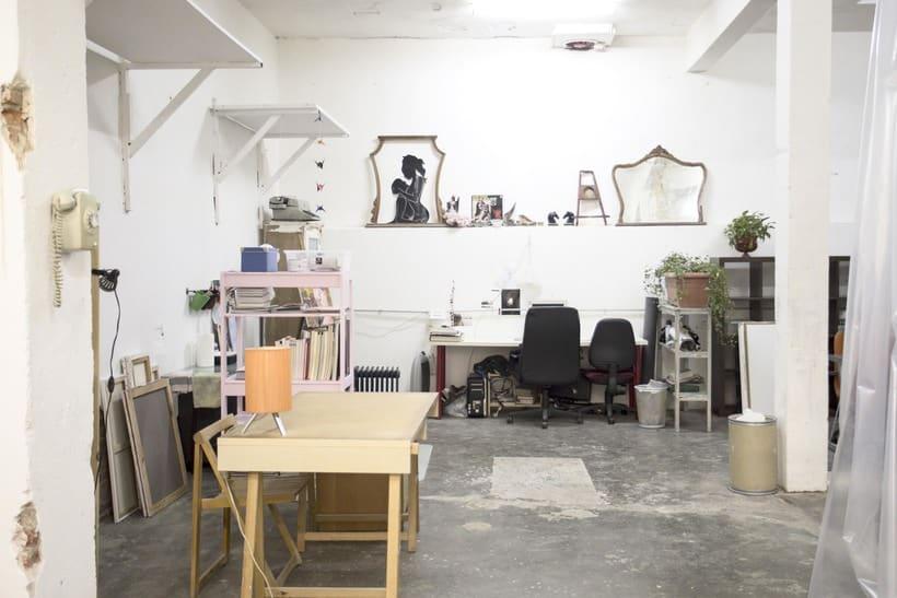Se ofrece espacio de trabajo para artistas 0
