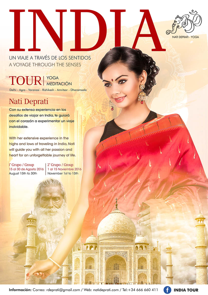 India travel Flyer 0
