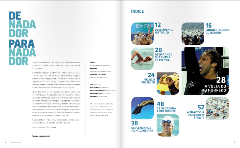 Revista SwimChannel 8