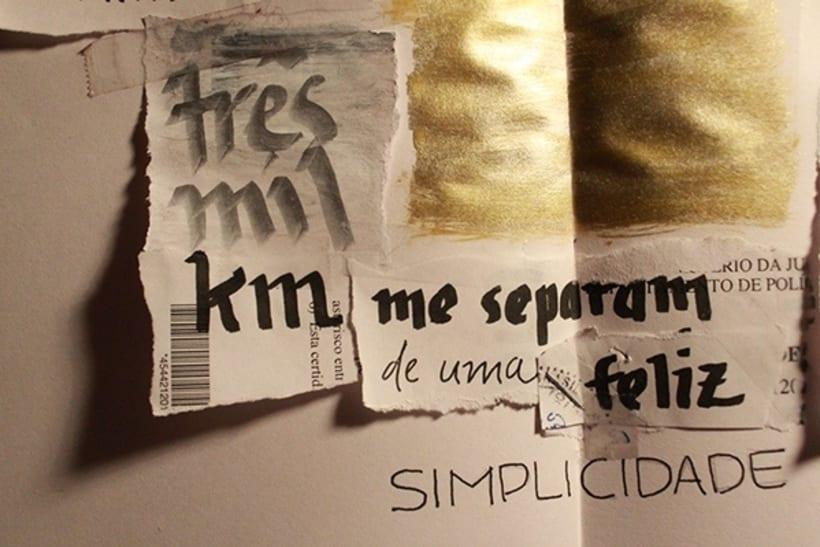 Lettering one soul | simplicidad 3