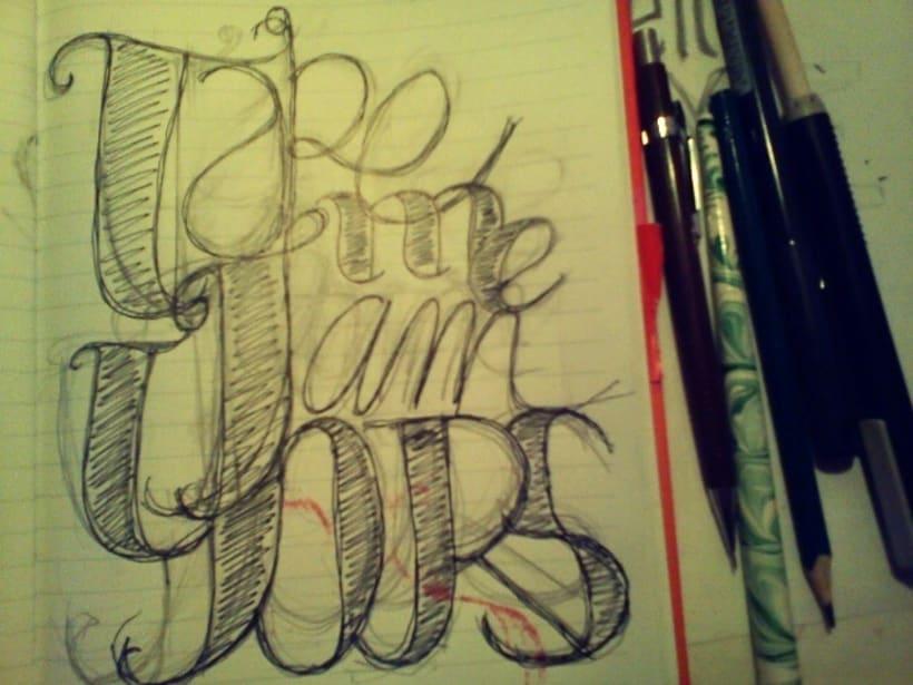 Lettering one soul | letras 4