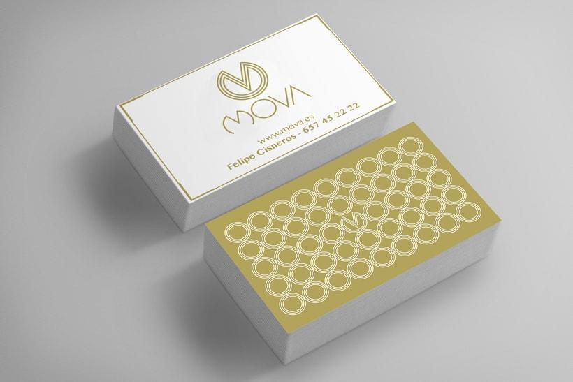 MovaBranding, Imagen Corporativa para una tienda + Papeliería + Diseño Web 3