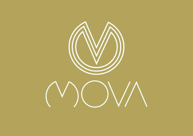 MovaBranding, Imagen Corporativa para una tienda + Papeliería + Diseño Web 2