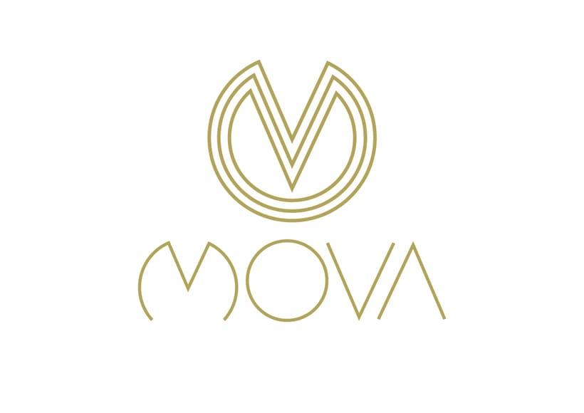 MovaBranding, Imagen Corporativa para una tienda + Papeliería + Diseño Web 0