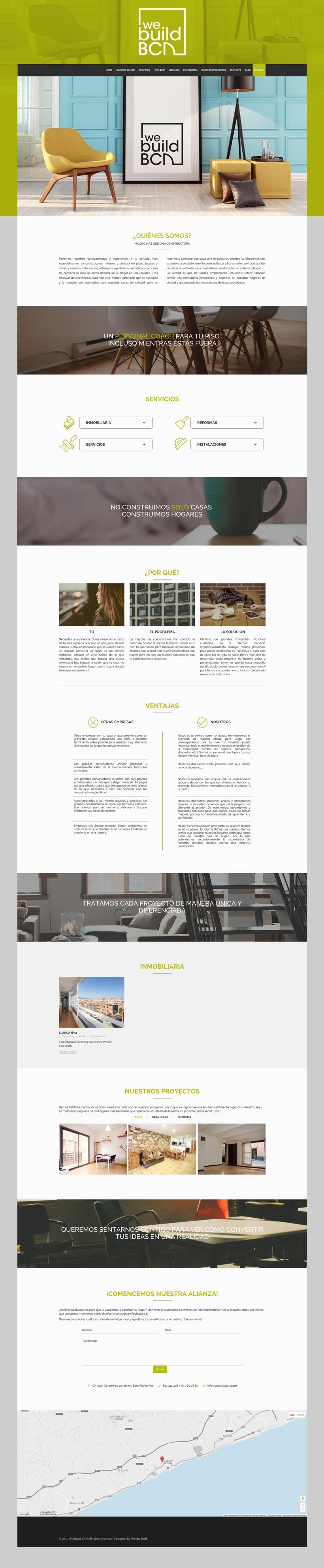Diseño Web / Maquetación Parallax 0