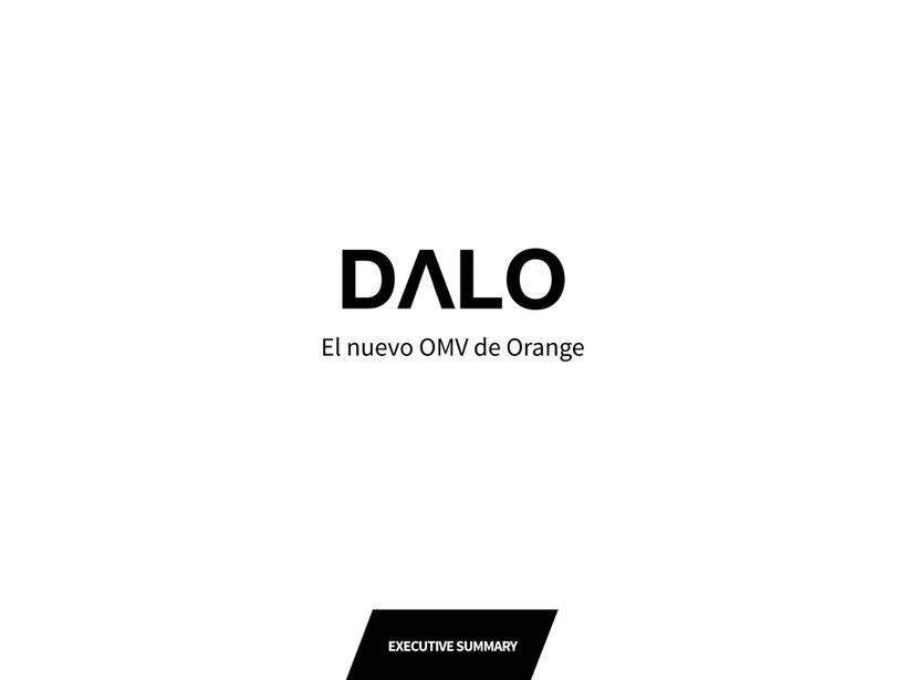 DALO: El nuevo OMV de Orange (Proyecto del curso de Branding de Saffron) 0