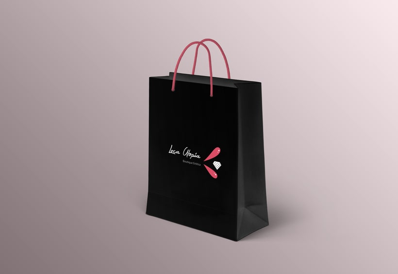 Branding & Corporate Design: Loca Utopía 6