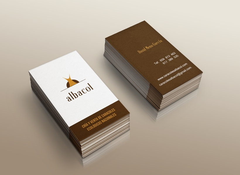 Branding & Corporate Design: albacol 0
