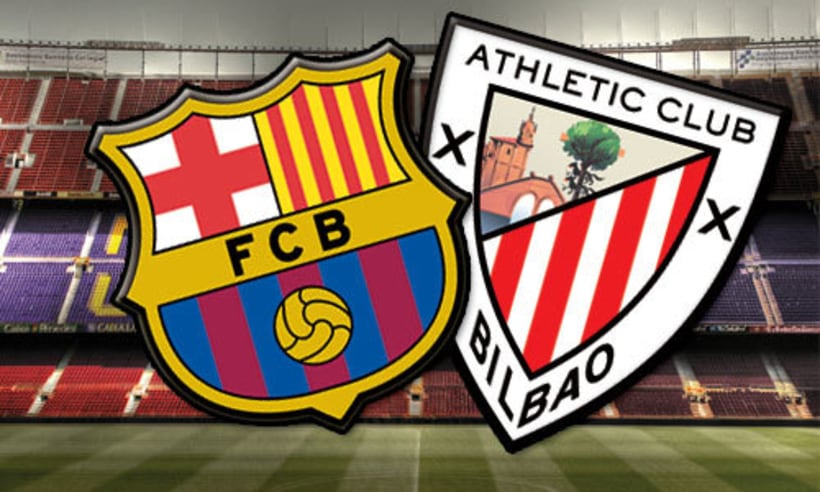 ver online Barcelona vs Athletic Club 0