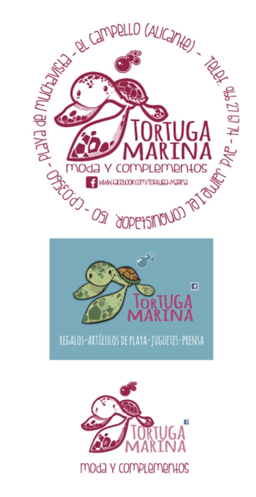 Tortuga&Tucán (Logos para tienda on line y física) 3
