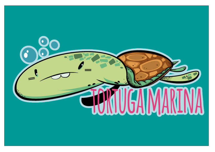 Tortuga&Tucán (Logos para tienda on line y física) 4
