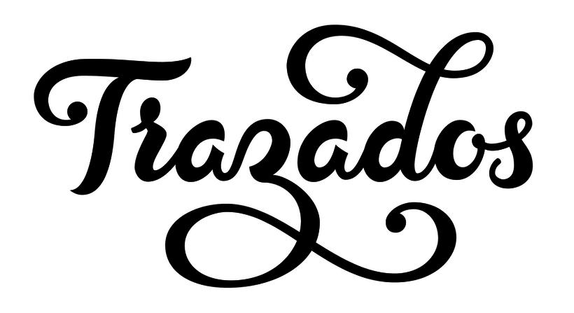 Lettering 'Trazados' 4