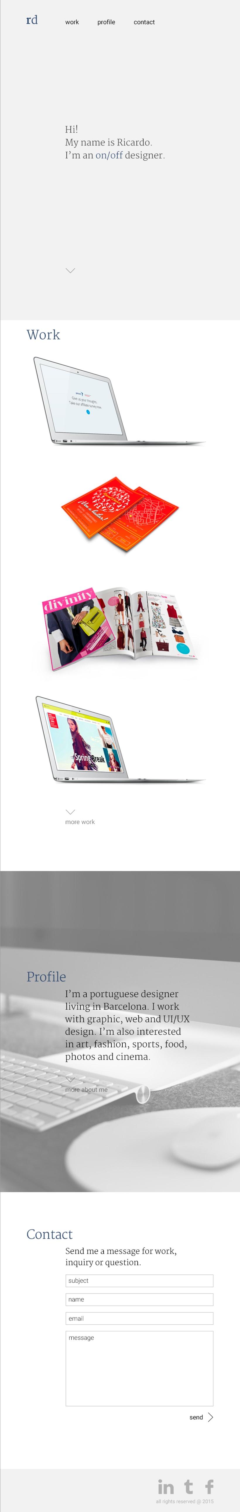 Mi Proyecto del curso: Diseño web: Be Responsive! 7