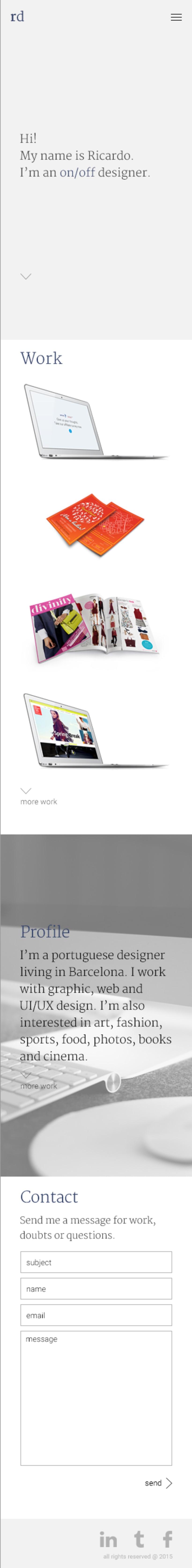 Mi Proyecto del curso: Diseño web: Be Responsive! 9
