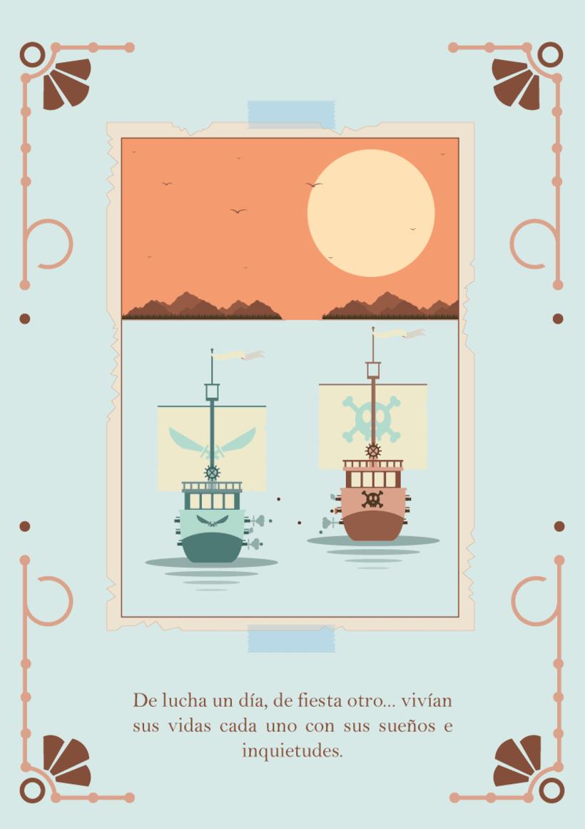 """Piratas de Alma pobre"" 1"