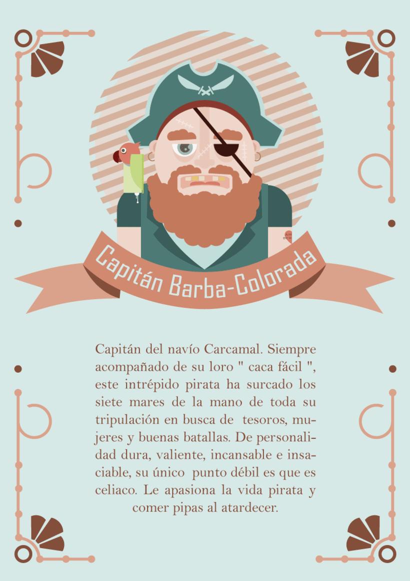 """Piratas de Alma pobre"" 2"
