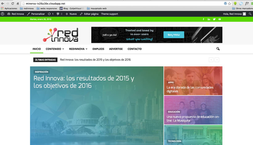 Wordpress para portal de noticias de tecnologia  0