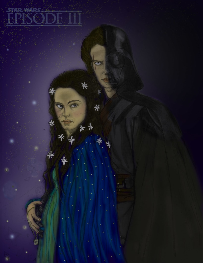 Proyecto Star Wars Episode III: Ilustración artística y comercial -1