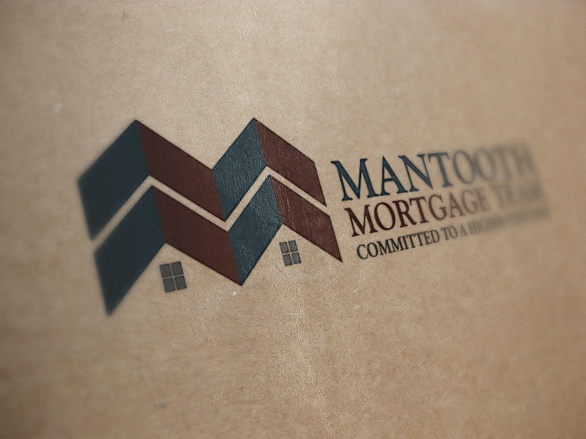 Logo Design for Mantooth Mortgage Team 2