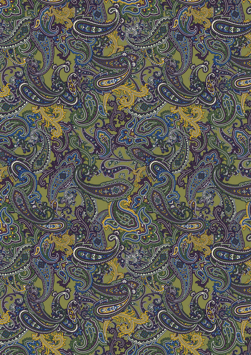 all over prints -paisley- 10