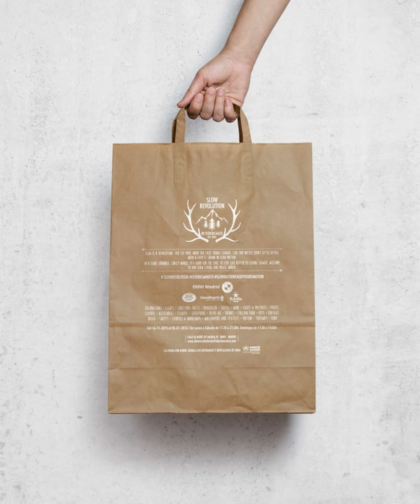 "Branding ""Slow revolution"" by Federica & co 1"