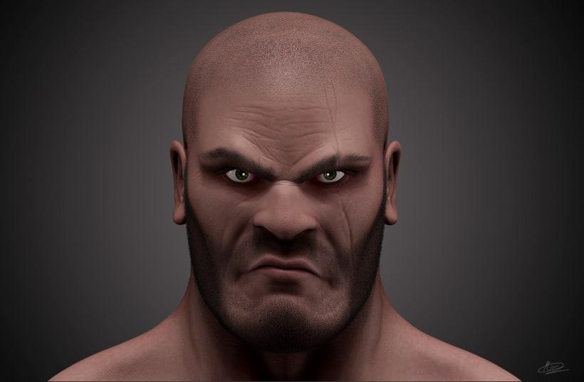 Warrior Character -1