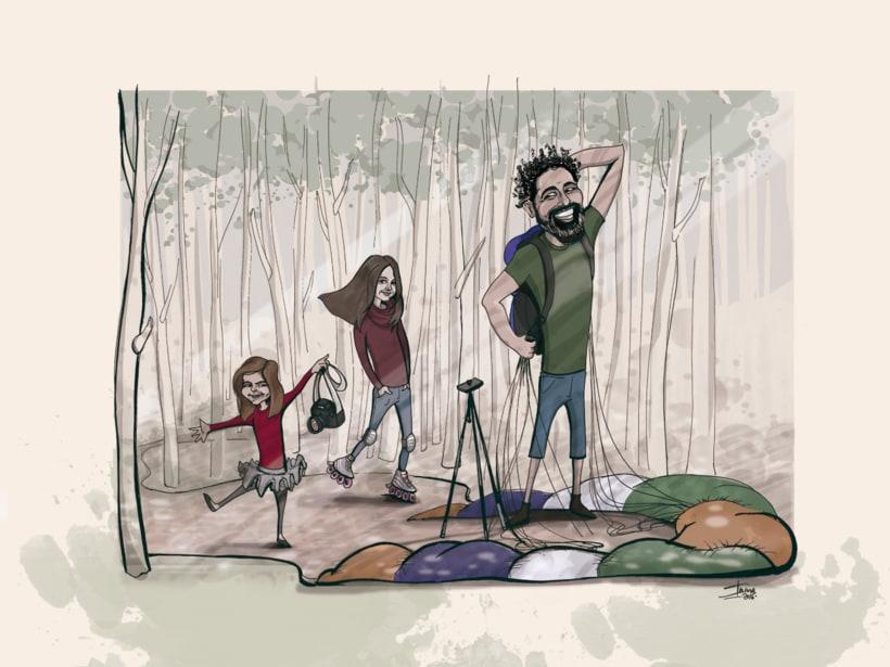 Caricaturas familiares 2
