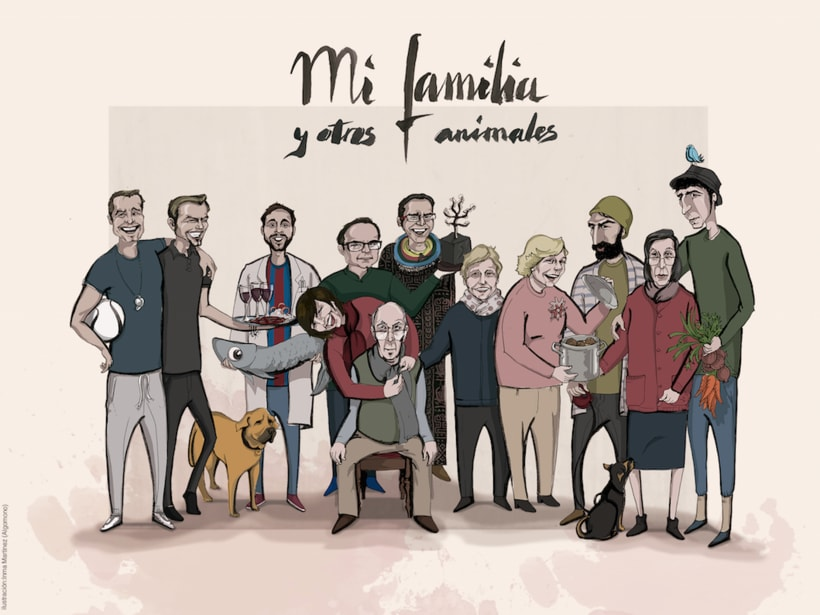Caricaturas familiares 0