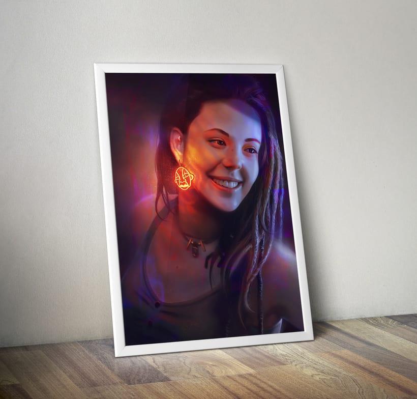 Retrato en luz! 0