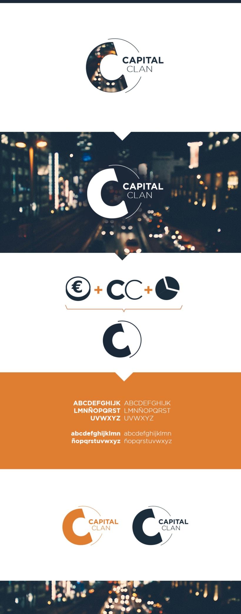 Creación de logo para club simulado de inversores -1