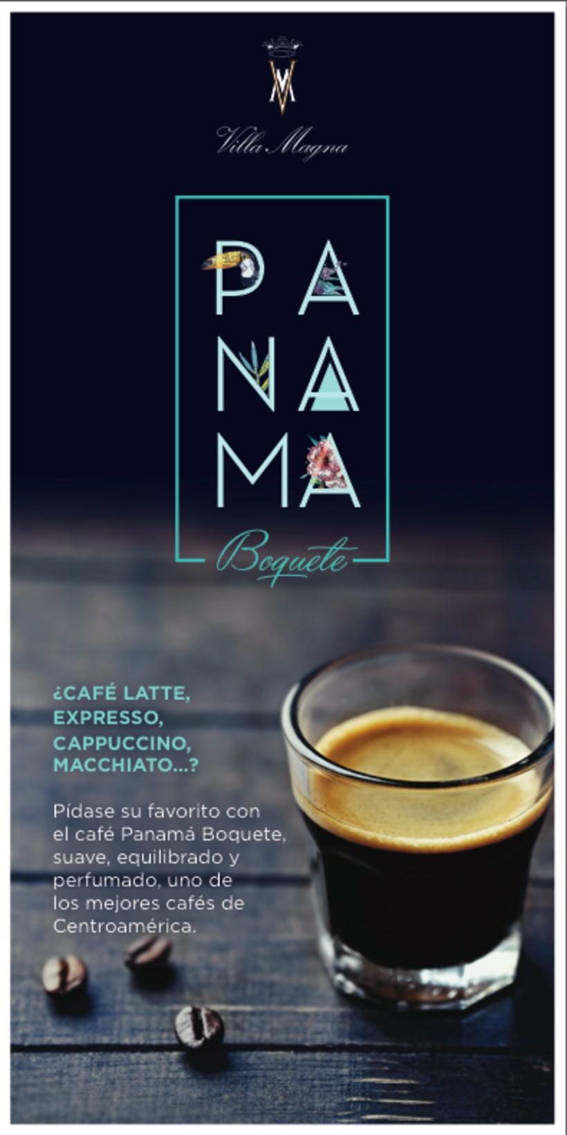 Flyers Cafés del mundo de Villa Magna 1
