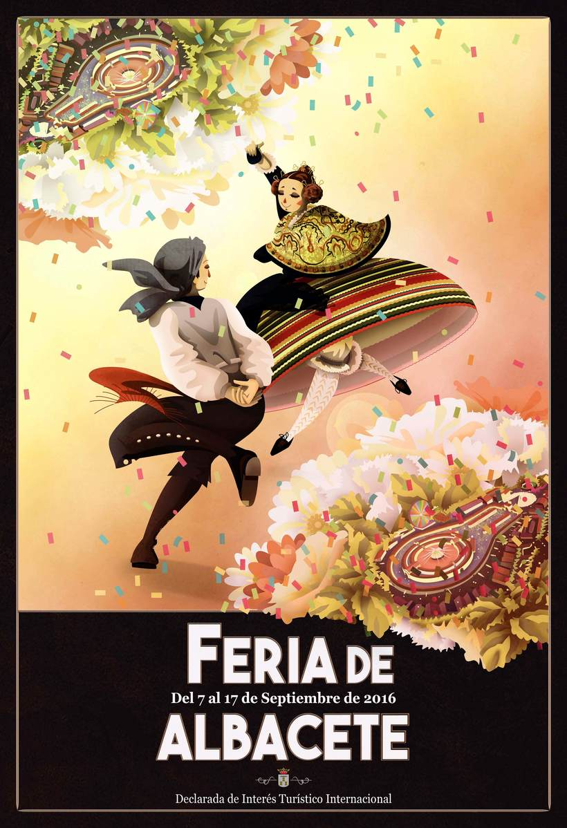 Cartel concurso Feria de Albacete 2016 -1