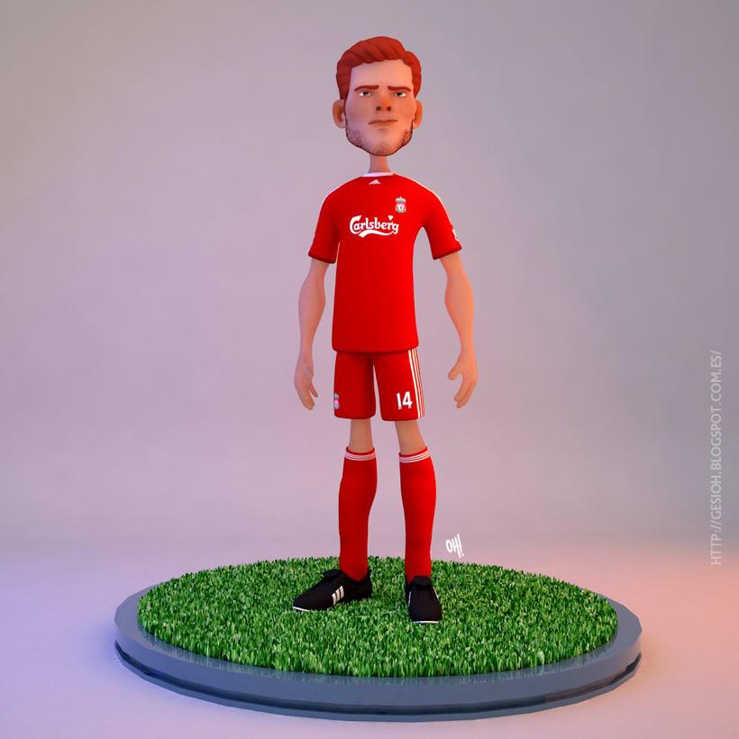 Xabi Alonso / Liverpool 0