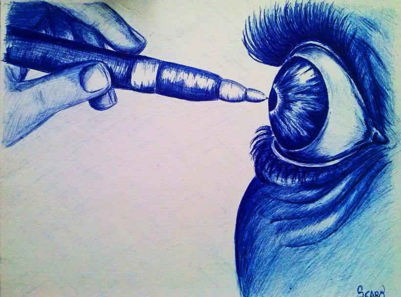 Bolígrafo .. entintando... 0