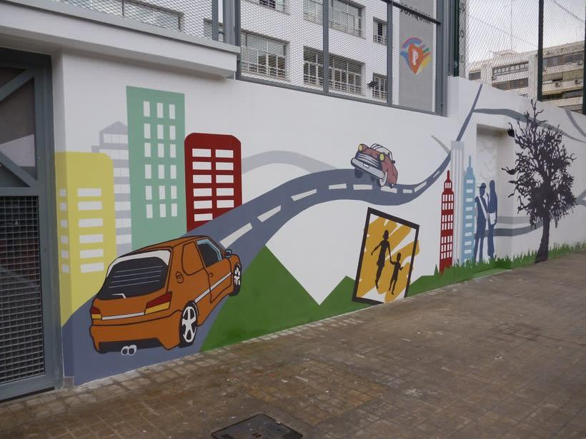 Mural  Colegio San Pedro Pascual  0