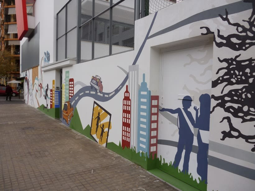 Mural  Colegio San Pedro Pascual  1