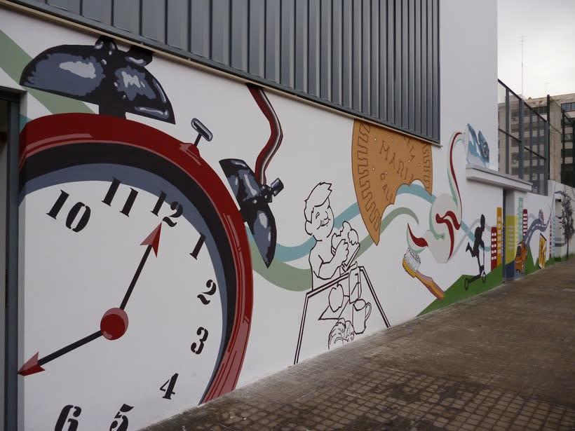 Mural  Colegio San Pedro Pascual  2