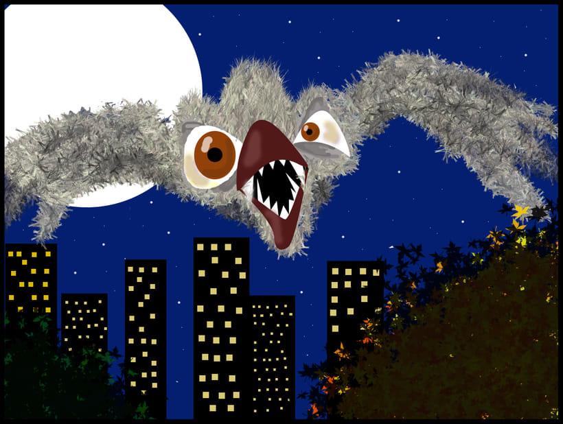 Ilustración infantil... La Luna y yo 9