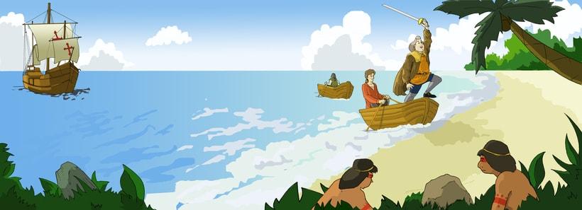 lustraciones para Cuento infantile creado para EL BLOG DE JUANRI.COM 2