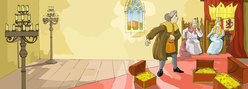 lustraciones para Cuento infantile creado para EL BLOG DE JUANRI.COM 3