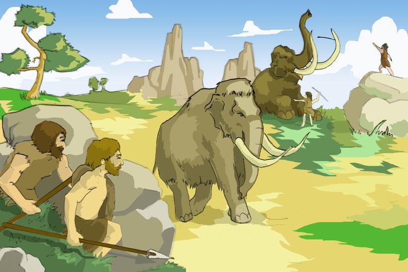 lustraciones para Cuento infantile creado para EL BLOG DE JUANRI.COM 5