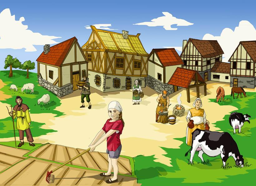 lustraciones para Cuento infantile creado para EL BLOG DE JUANRI.COM 7