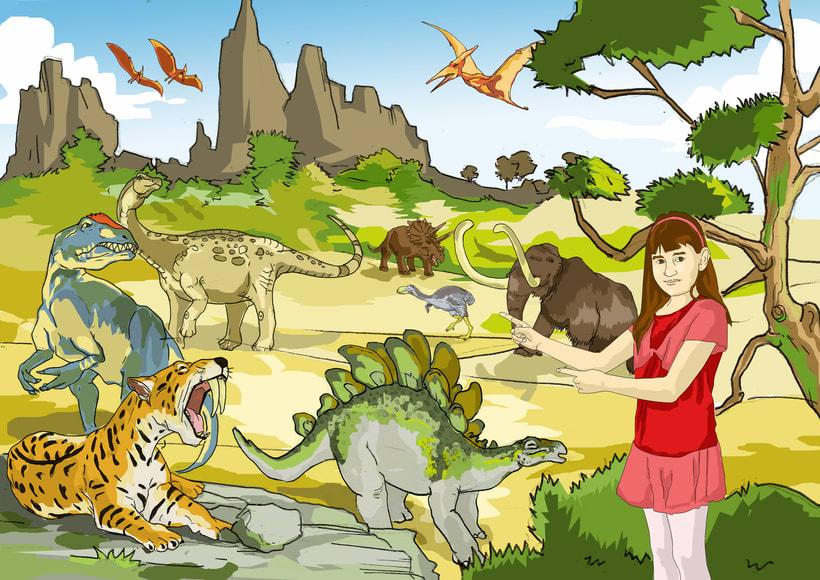 lustraciones para Cuento infantile creado para EL BLOG DE JUANRI.COM 8
