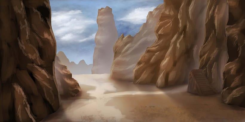 Mi Proyecto del curso: Matte Painting: creando mundos fotorrealistas 6